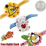 IGB Kids Rakhi Set of 3