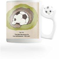 PosterGuy FIFA Archeology Football FIFA Rotating Football Handle Ceramic Mug
