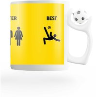 PosterGuy The Good, Better And Best Yellow FIFA Mug