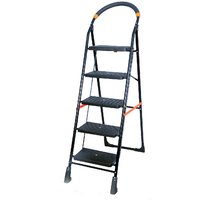 SAIMANI Heavy Duty Multipurpose 5 step Folding Ladder