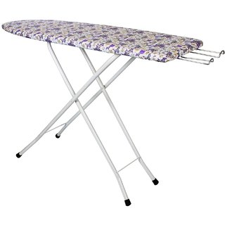 SAIMANI Folding Ironing Board Iron Table With Press Holder