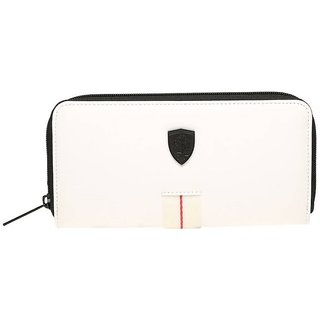 Puma White Canvas Clutch Wallet For Womens available at ShopClues for Rs. 2499 e91a2d5788cd3