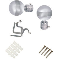 Art Pack Ball Shape S.S Eyelet Curtain Accessories With Fitment Accessories