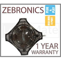 Zebronics High Speed USB Hub 4 Multi Port PC Laptop With Warranty