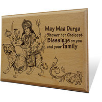 Blessings Wooden Engraved Plaque