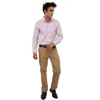 We Men Subtel Multicolor Cotton Shirt