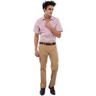 We Men Meticulous Multicolor Cotton Shirt
