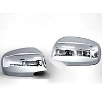 Hyundai Santro Xing Adjustable Mirror Chrome Side Mirror Cover (Set of 2 Pieces)