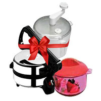 Branded Electric Roti Maker + Atta Maker + Free Hotpot - 3846138
