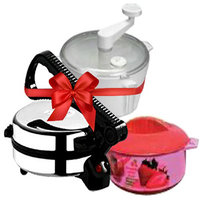 Branded Electric Roti Maker + Atta Maker + Free Hotpot - 3846208