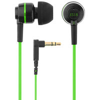 SOUND-MAGIC IN EAR EARPHONE/HEADPHONE Es18(green-black)- FOR IPHONE/IPOD/IPAD