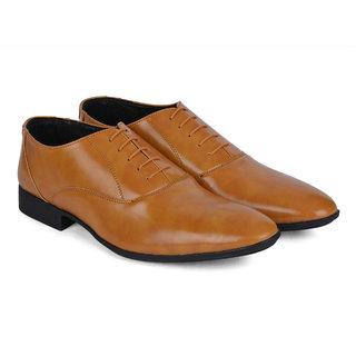 Ziraffe CARACAS Camel Leather Formal Shoes