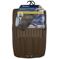 Michelin - Style 915-  Universal Floor Mat for Car (Set of 5, Beige)