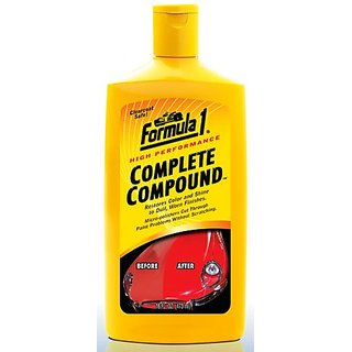 Formula 1 NEW Best coating, polish compound, scratch remover   super shine