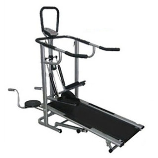 Lifeline 4 in 1 Manual Treadmill Delux JOGGER available at ShopClues for Rs.11450