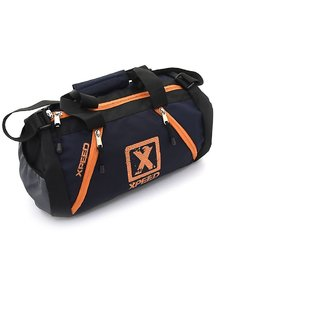 Xpeed Gym Bag in Blue-Orange Color