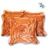 Floral Cushion Fawn 30/30 Cm(set Of 5 Pcs)