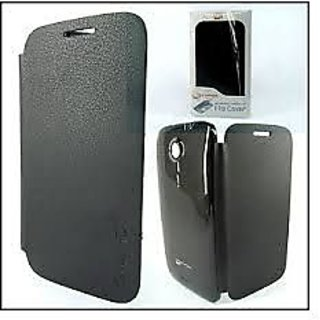 MICROMAX  A116 FLIP COVER Black Canvas HD available at ShopClues for Rs.148