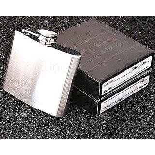 Unisex Travel Stainless Steel Hip Flask Liquor Handler