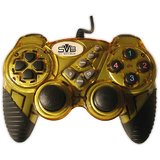 SVB-USB GAME PAD WITH VIBRATION DELUXE-YELLOW