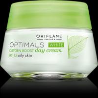 Optimals White Oxygen Boost Day Cream For Oily Skin SPF 15 - 50ml
