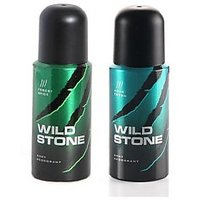 WILD STONE DEO PACK OF 2 (FOREST SPICE+AQUA FRESH)