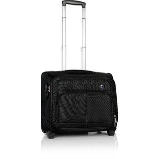 Novex Black Polyester 2 Wheels Small (Below 60 Cms) Trolley Bag