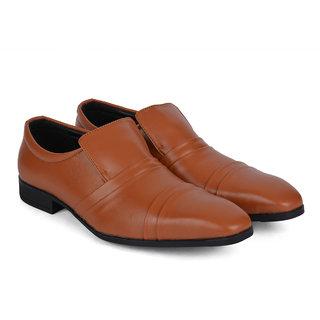 Ziraffe WARSAW Tan Mens Leather Formal Shoes