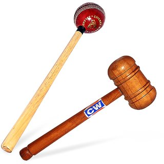 Cricket Mallet CW (Pack Of 2) Ball Wooden Mallet