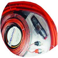 Worldtech 4 Gauge, Car Amplifier Kit Wire