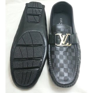 Louis Vuitton Loafer Damier Mens Shoes, Size_11