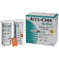100 Test Strips For AccuChek Accu Chek Active Blood Sugar Glucose