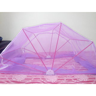 ANS Nylon Mosquito Net 3X6 size Single BED