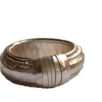 Cuero Stylish Golden Bangle