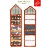 Handloomdaddy Wall Hanging Letter Holder - Three Pockets - Combo (Set Of Two)
