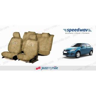 Shop Speedwav Cool Beige Towel Seat Cover Maruti Swift
