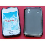 New High Quality Platina Jelly Case For Samsung Galaxy Ace / S 5803 Black