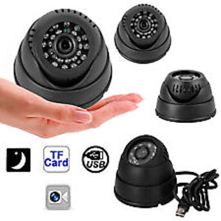 CCTV Dome DVR Night Vision Camera With SD Memory Card Slot