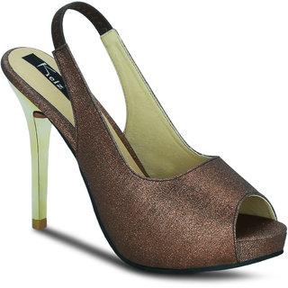 Kielz Girls Copper Slip on Heels ]F-2786-COPPER
