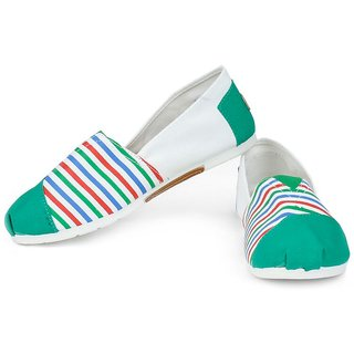 Action Green Slip On Girlss Casual Shoes ]T-29-GREEN