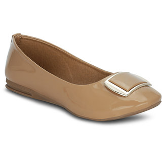 Kielz Girls Beige Round Toe Bellies ]KP-9-BEIGE