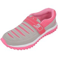 Porcupine Fashion Girls Mesh Sports Shoes colour pink ]