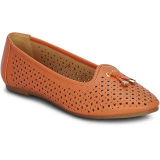 Kielz Girls Peach Slip on Casual Shoes ]F-2964-PEACH