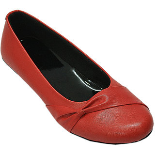 Select Red Girls Ballerinas GSB102