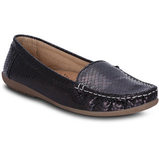 Kielz Girls Black Slip on Casual Shoes ]KP-6-BLACK