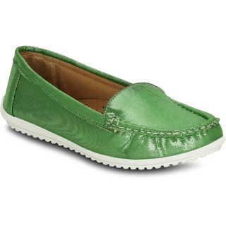 Kielz Girls Green Slip on Casual Shoes ]KP-7-GREEN