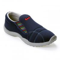 Advice Girlss Blue Slip On Casual Shoes 046-F-103-Blue