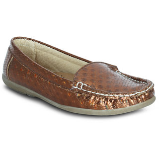 Kielz Girls Copper Slip on Casual Shoes ]KP-6-COPPER