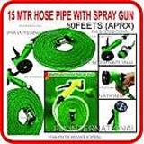 Multifunction Spray Gun With 5M Water Hose Bike/Car Wash