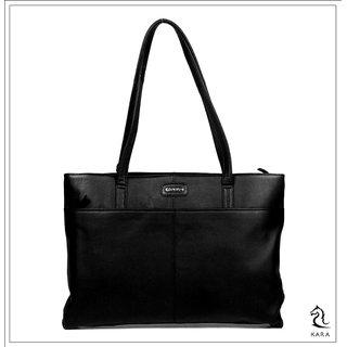 Kara Mulberry Black Hand Bag